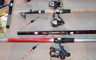 Какие бывают удочки для летней рыбалки