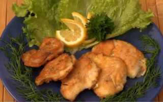 Жареная рыба в кляре на сковороде