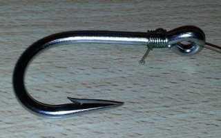 Безузловой узел для крючка