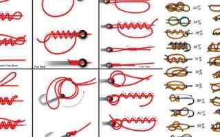 Вяжем рыболовные крючки