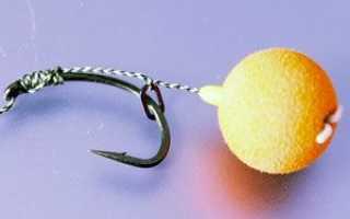Как вязать волосяную оснастку для фидера