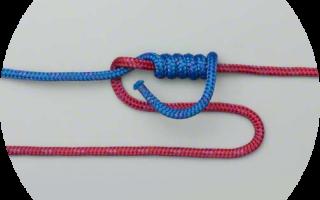 Как привязать крючок к плетенке