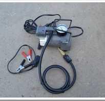 Как подключить насос к аккумулятору авто