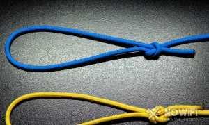 Как сделать самозатягивающийся узел на браслете