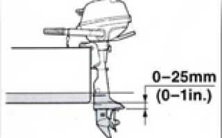 Кавитационная плита на лодочном моторе