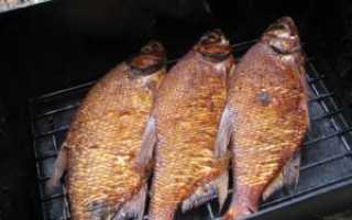 Время горячего копчения рыбы