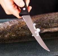 Как чистить рыбу от чешуи быстро
