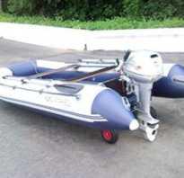 Колеса на транец лодки пвх