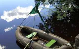 Как заклеить надувную лодку