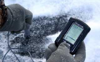 Зимний эхолот