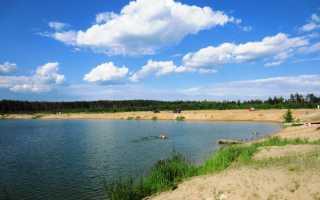Бисеровское озеро рыбалка