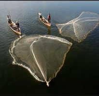 Кастинговая рыболовная сеть