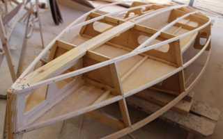 Как сделать лодку самому