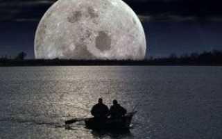 Влияние луны на рыбалку