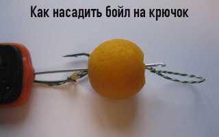 Как вязать крючки для бойлов