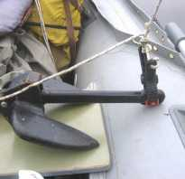 Какой вес якоря нужен для лодки пвх